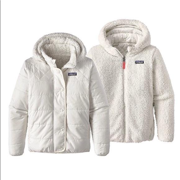 fcde78c488cf Girls Reversible Dream Song Jacket  Birch white